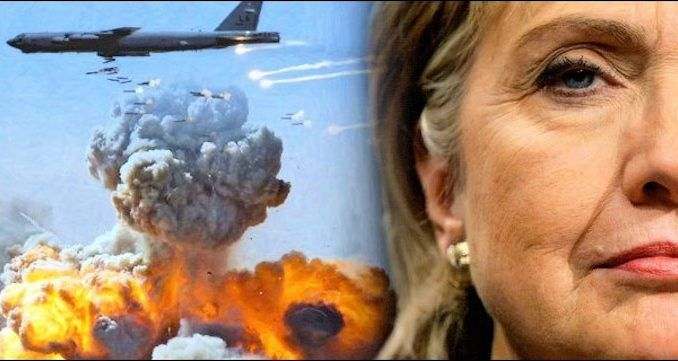 Julian Assange says Hillary Clinton will always be remembered as the butcher of Libya