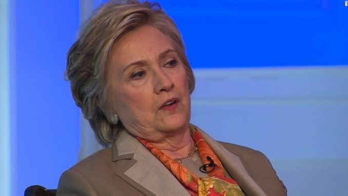 Hillary Clinton admitted that her own criminality cost her the election when she said James Comey and WikiLeaks cost her the election.