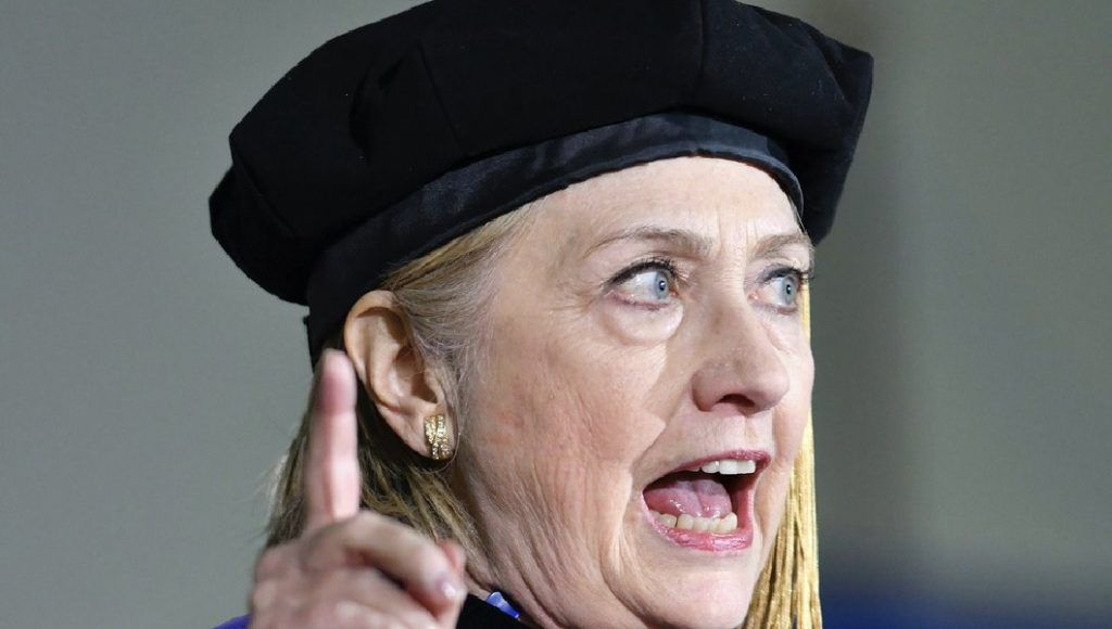 Hillary Clinton promises to ensure that Trump is impeached