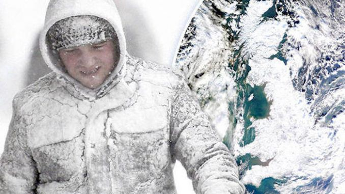 Climate scientists warn that Britain is about to enter into an ice age