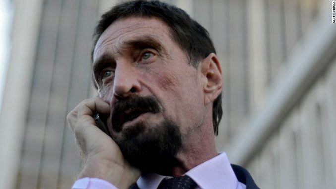 John McAfee has announced details of the world's first truly private smartphone, set to be released later this year.