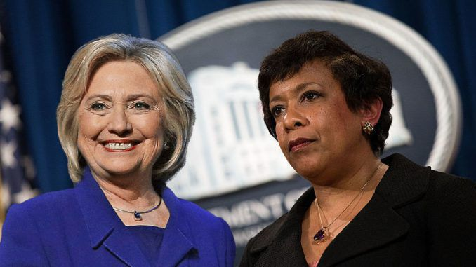 FBI admit that Attorney General Loretta Lynch vowed to protect Hillary Clinton from jail during email investigation