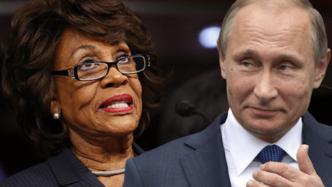 Rep. Maxine Waters held 200k in Russia-linked bank accounts