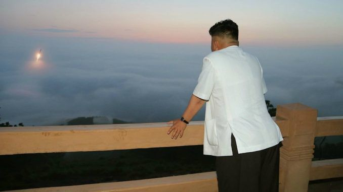 Kim Jong-un says he is ready for war with the US