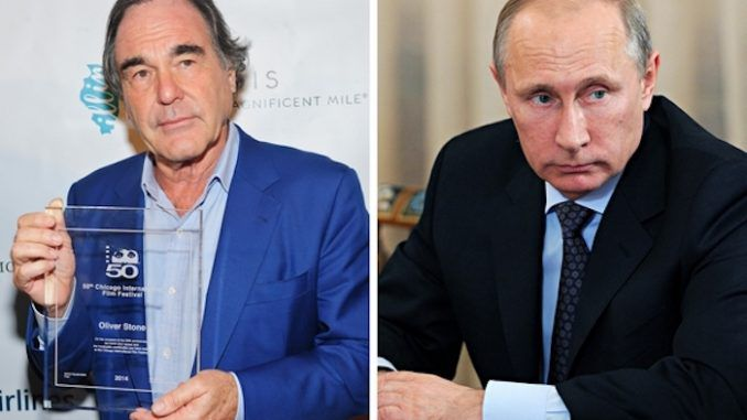 Oliver Stone says the world needs to listen to Putin