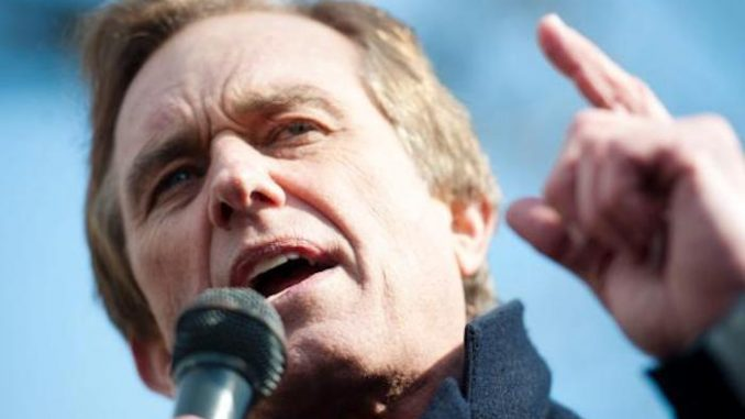 "Robert F. Kennedy Jr. warned that modern vaccines are essentially poison vials creating a ""medical Holocaust."""