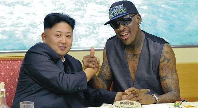 "Dennis Rodman has good news for anyone concerned that ""madman"" Kim Jong-un is going to launch a nuclear strike on the United States and spark World War 3."