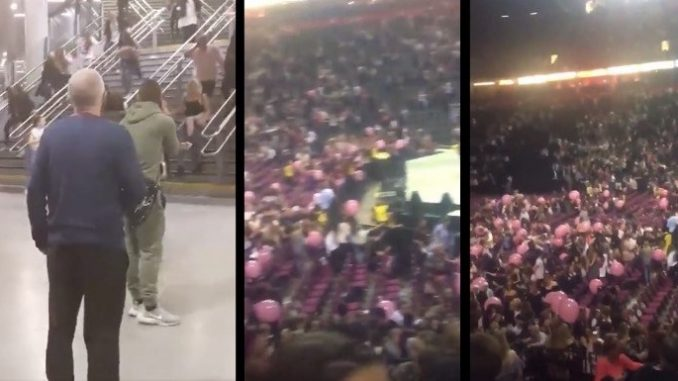 Wall of security guards blocked Ariana Grande concert goers from leaving during Manchester bombing