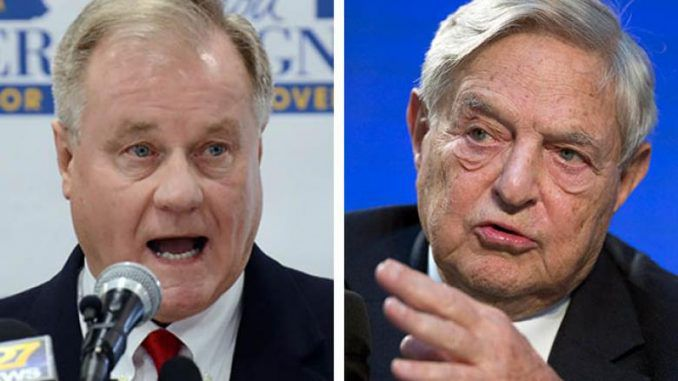 Republican senator blasts George Soros spy caught secretly filming event
