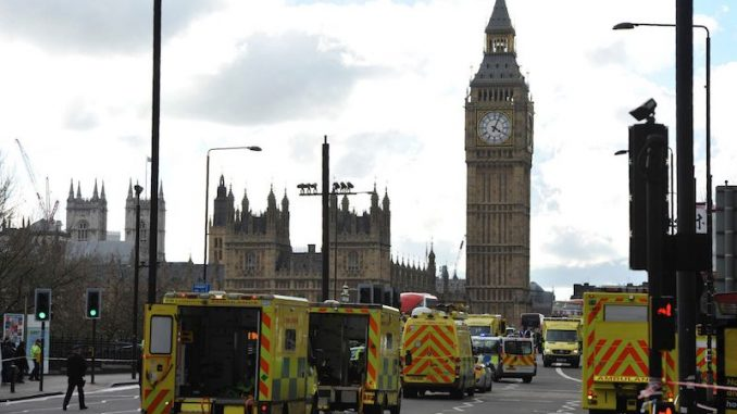 UK hospitals told to brace for imminent terror attack