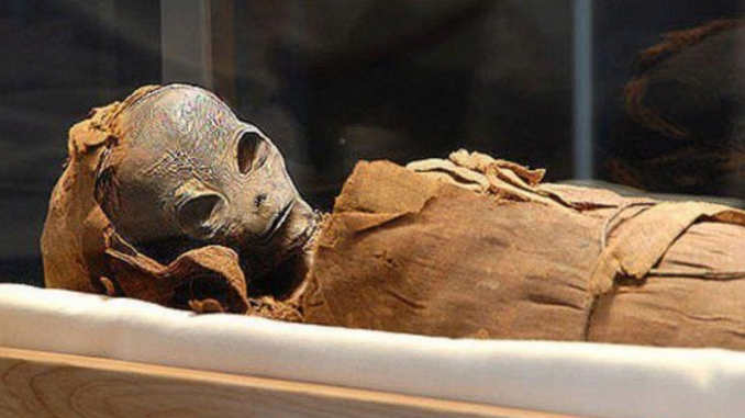 Alien mummy discovered in Peru
