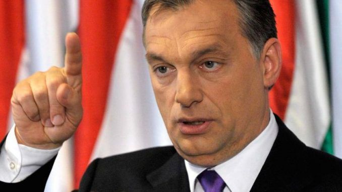 Hungarian PM Viktor Orbán has opened fire on the EU and George Soros, accusing them of supporting terrorists to further their agenda.