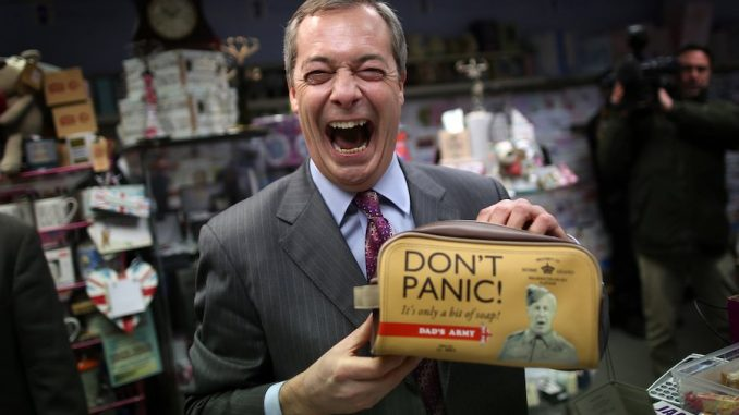 FBI say Nigel Farage is a person of interest in their Russia probe