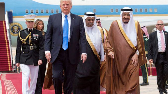 Reports of Trump's arms deal with Saudi Arabia are false, claims CIA analyst