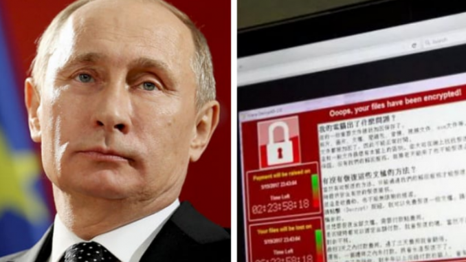 CIA orchestrate massive European cyberattack being blamed on Russia's Trump