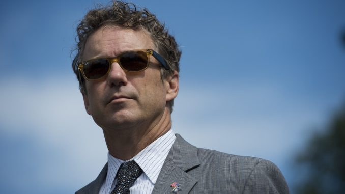 Senator Rand Paul introduces bill to end marijuana prohibition in the US