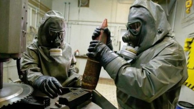 Russia becomes world's first country to destroy nearly all of their chemical weapons