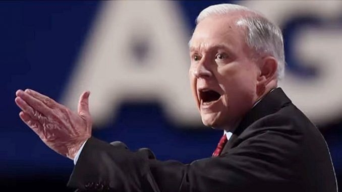 Jeff Sessions says he is investigating White House leakers and dumping Russian investigation
