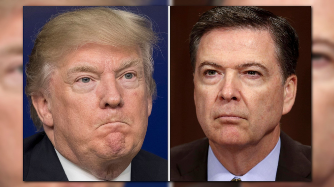 President Trump accuses Comey of being the White House leaker