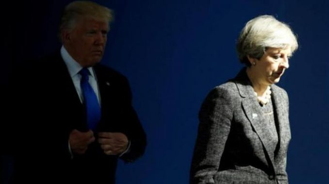 """Donald Trump's state visit to the United Kingdom has been """"put on hold"""" after British authorities informed the president that they cannot ensure his safety from terror."""