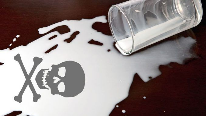 """Big Dairy are trying to deceive consumers by including aspartame in """"milk"""" without listing the chemical poison on the label."""