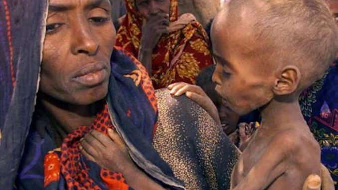 2e89c91d0d416 An Ethiopian famine far worse than the one in 1984 which claimed one  million lives is