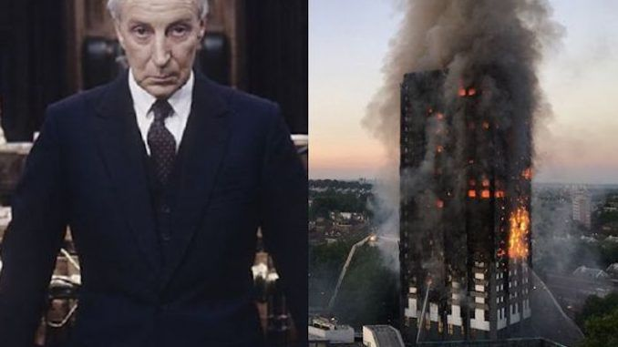 BBC drama predicted Grenfell tower fire