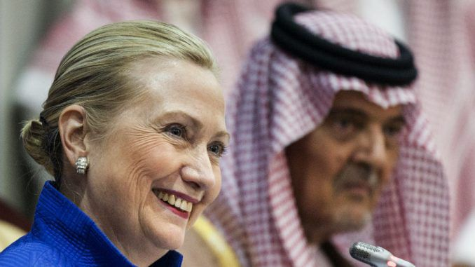 Clinton Foundation guilty of taking $1 million from Qatar and not declaring it