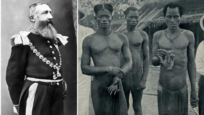 He killed more people than Hitler and the Nazis, but the world has forgotten about him because he was killing Africans.