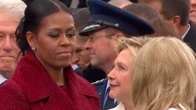 Leaked emails reveal that Michelle Obama hates Hillary Clinton