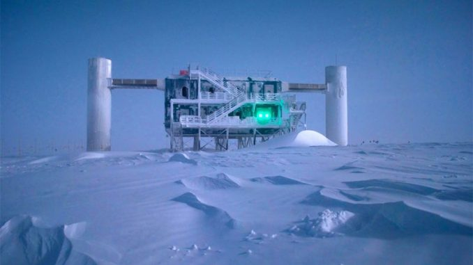 Mysterious energy waves detected in Antarctica