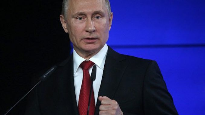 Putin praises Trump for trying to normalize US-Russia relations