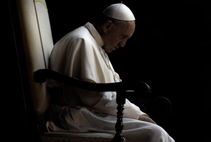 """Pope Francis called for """"a one world government"""" and """"political authority"""" this week, arguing that the creation of the one world government is needed to combat major issues such as """"climate change."""""""
