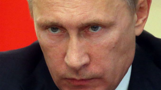 Putin says the downing of a Syrian warplane by US forces is an act of war