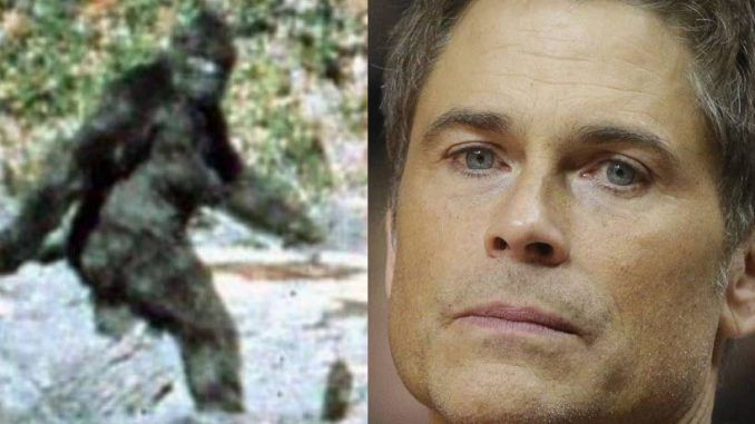 Actor Rob Lowe claims that Big Foot tried to kill him