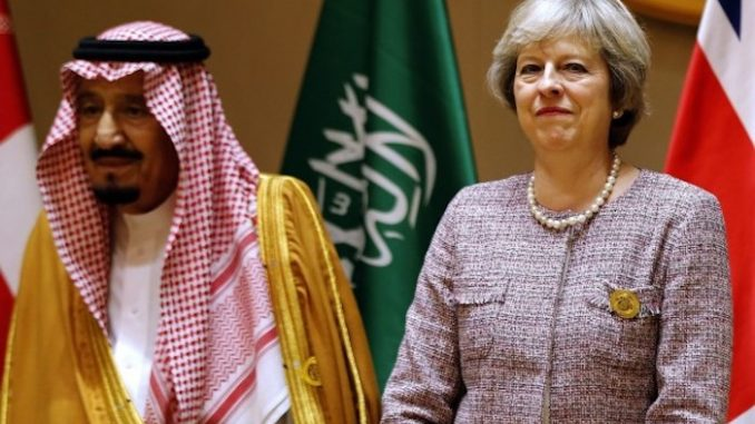 UK government report concludes that Saudi Arabia funds ISIS
