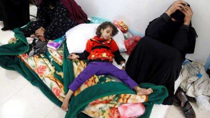 Saudi warplanes strike childrens hospital in Yemen