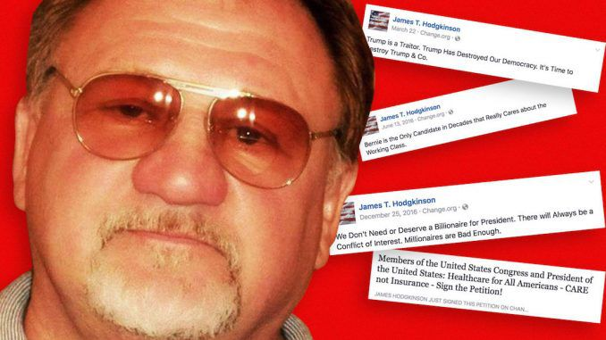 James Hodgkinson, the baseball field shooter who had a list of Republican congressmen he planed to kill, exchanged emails with two Democratic senators from Illinois prior to the shooting.