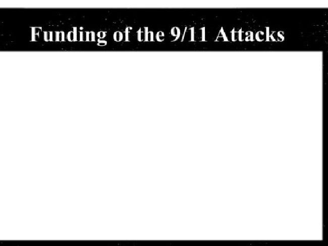 Funding of 9/11 attacks - FBI report