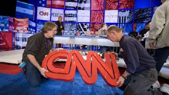 CNN on brink of collapse as audience viewing figures lowest in its history