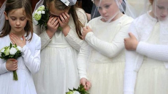 California uphold law allowing pedophiles to marry 10-year-old kids