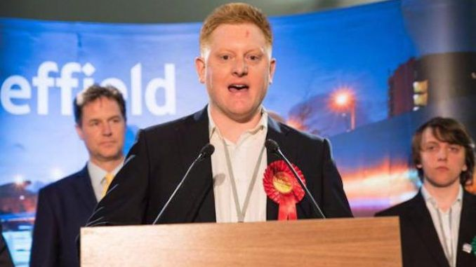 Disabled MP Jared O'Mara has accused the Tory government of performing a eugenics program against disabled people