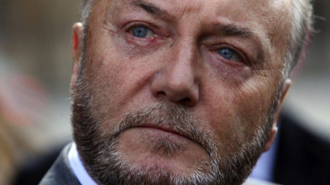 George Galloway warns that Tony Blair is about to betray Britain