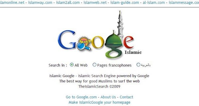Google announce they will block all websites critical of Islam from appearing on their search results