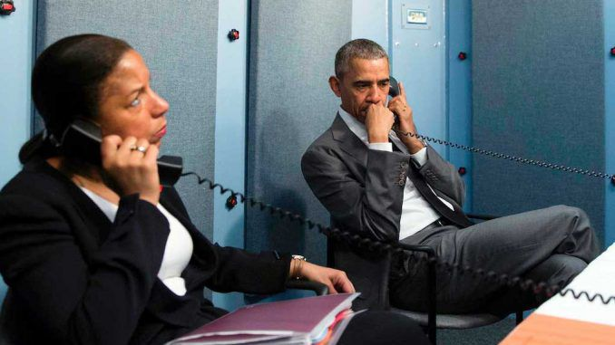 Officials from the Obama administration to be jailed for illegally unmasking US citizens