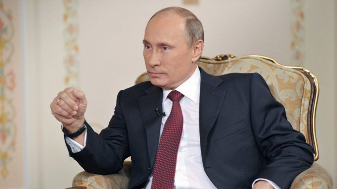 Putin says world leaders should show honesty and strength
