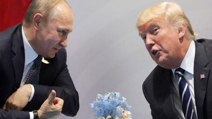 In the American president Putin has found the ally he needs to destroy the New World Order once and for all.
