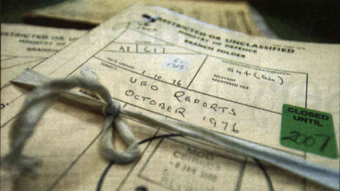 UK government declassify UFO files