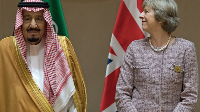 British report concludes that Saudi Arabia are clear sponsors of terrorism