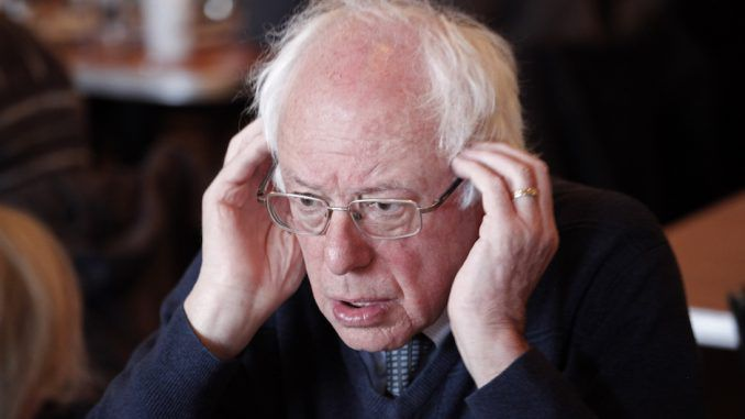Bernie Sanders accused of stealing neighbours Washington Post newspaper